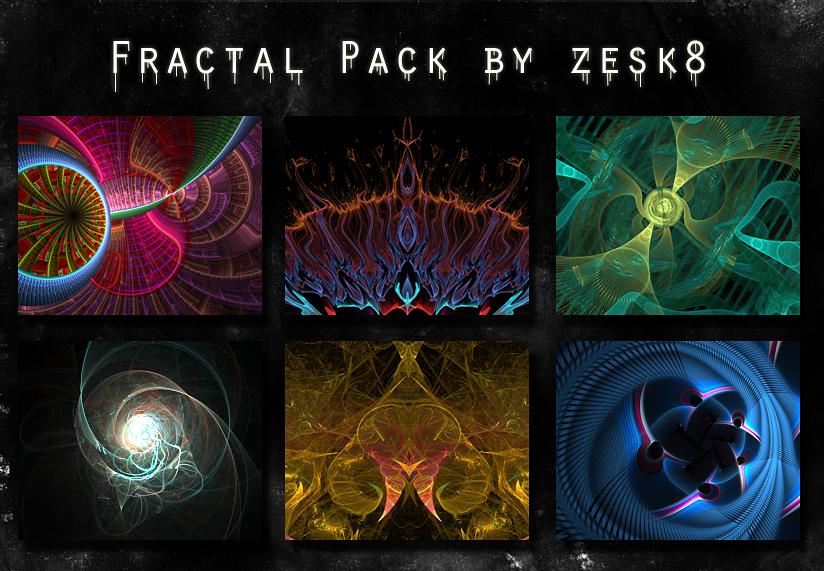 Fractal pack 1 by zesk8 by zesk8