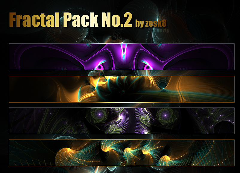 Fractal Pack No.2 by zesk8