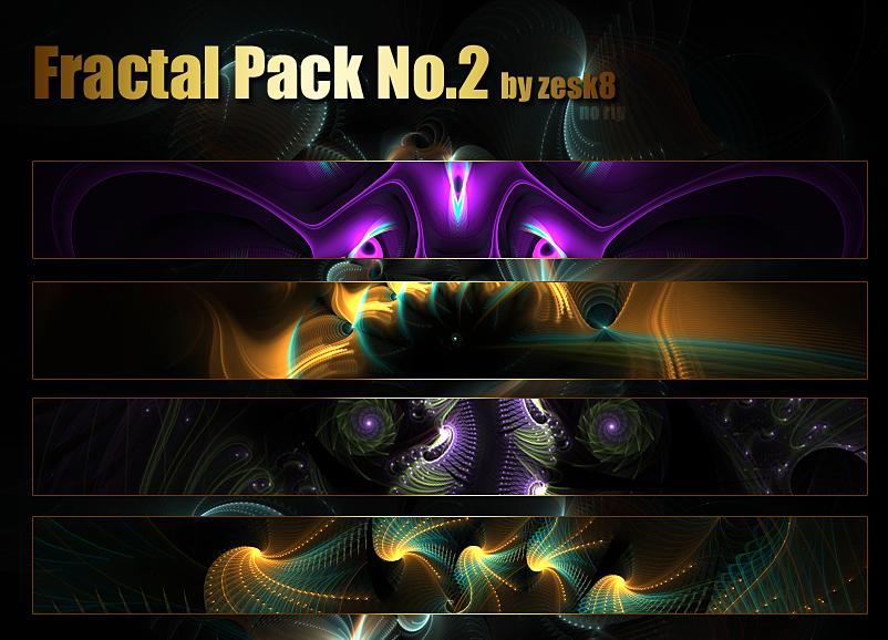 Fractal Pack No.2 by zesk8