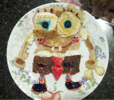 Comida cuqui fail: El tópic de los horrores fotogénicos culinarios - Página 5 Spongebob_pancakes_by_boo_lynn_d5a6b70-fullview.jpg?token=eyJ0eXAiOiJKV1QiLCJhbGciOiJIUzI1NiJ9.eyJzdWIiOiJ1cm46YXBwOjdlMGQxODg5ODIyNjQzNzNhNWYwZDQxNWVhMGQyNmUwIiwiaXNzIjoidXJuOmFwcDo3ZTBkMTg4OTgyMjY0MzczYTVmMGQ0MTVlYTBkMjZlMCIsIm9iaiI6W1t7ImhlaWdodCI6Ijw9MzUxIiwicGF0aCI6IlwvZlwvNWU1ZjIwY2EtNThhNy00MzMyLThmZWQtYzMwNGFjNjE4NmQ3XC9kNWE2YjcwLWY4ZmQ3YWZiLWY4ZDQtNGQ2NC05N2U5LTI3MTgwOWI3NGY4NC5qcGciLCJ3aWR0aCI6Ijw9NDAwIn1dXSwiYXVkIjpbInVybjpzZXJ2aWNlOmltYWdlLm9wZXJhdGlvbnMiXX0
