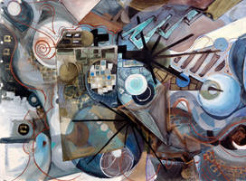 Conversation with God 1 by artmanjon