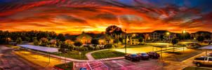 Fiery Sky by maanitrules