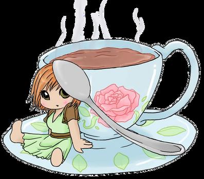 Chibi Sweets - Tea by Art-forArts-Sake