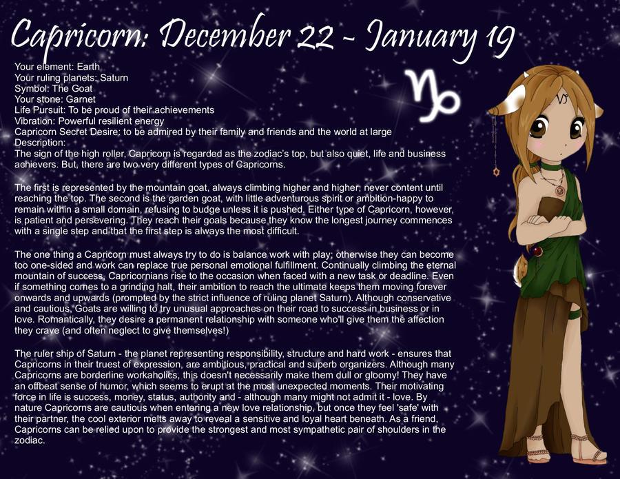 Pictures Of Capricorn Zodiac Anime