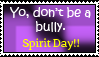 Spirit day awareness  stamp by yellowshinygoldfish