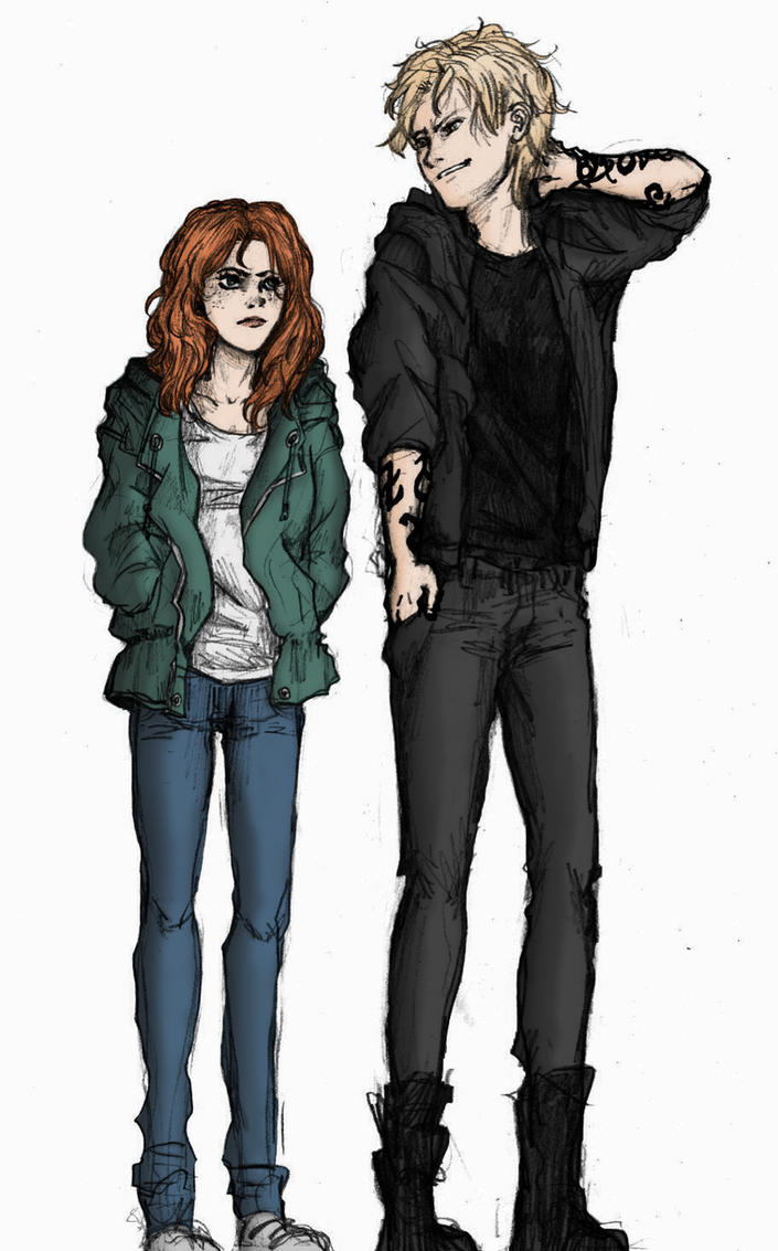 TMI- Jace and Clary by amzzz123 on DeviantArt  |Jace And Clary Fan Art Tumblr