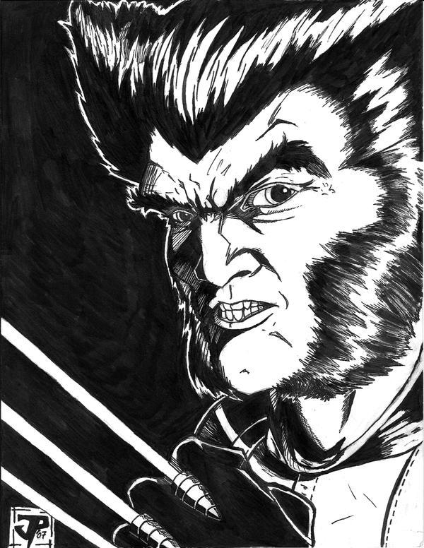 Wolverine   inks   by JPipe