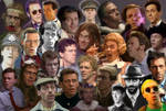 The Many faces of Hugh Laurie