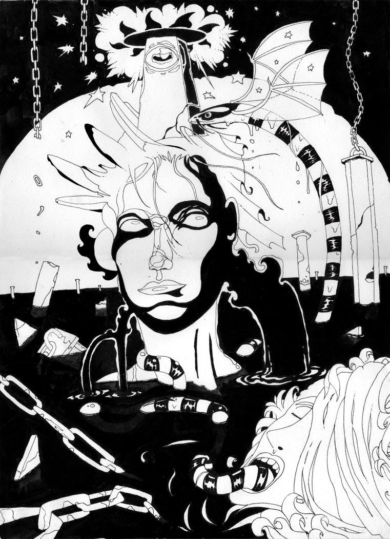 Pandemonium  by chiisana-no-neko