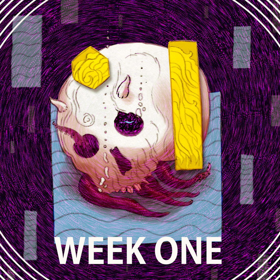 WEEK ONE by chiisana-no-neko