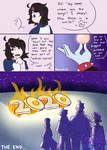 Burn 2020//spookiz comic//