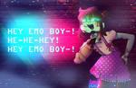 Hey Emo Boy He-he-hey Hey Emo Boyy