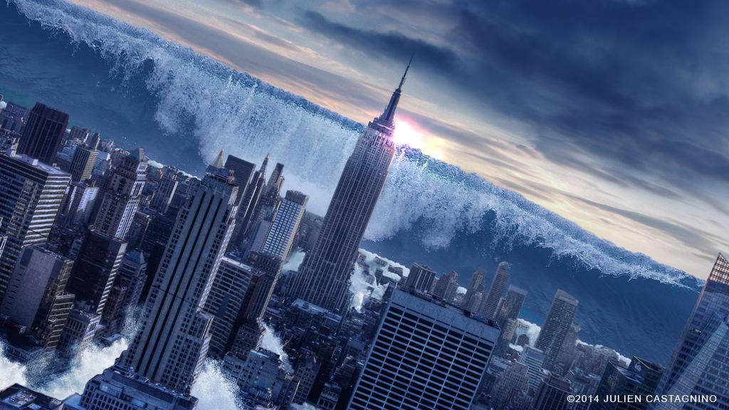 Tsunamie Sur New York By Juliocreas On Deviantart