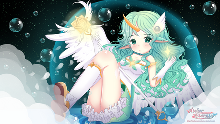 Star Guardian Soraka by AtelierAstarotte