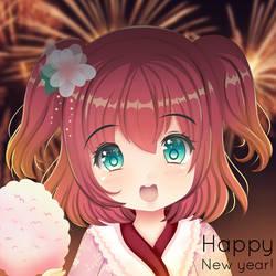 Happy New Year! 2018 by AtelierAstarotte