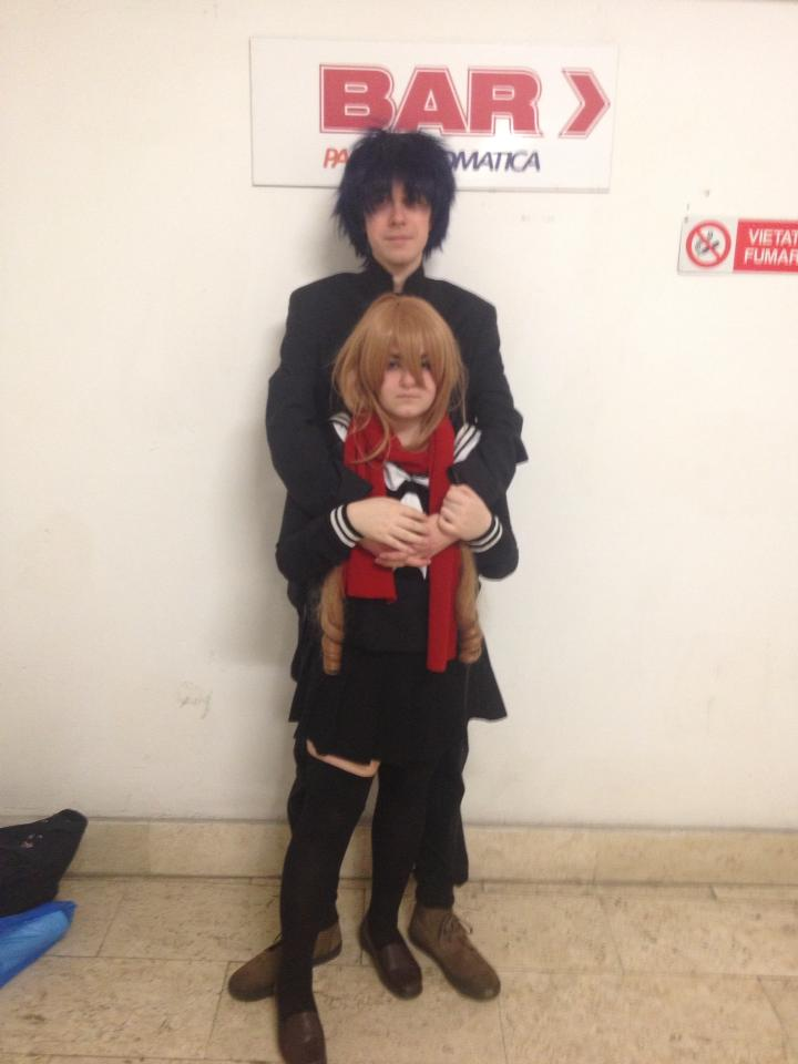 Toradora cosplay: Ryuji Takasu and Taiga Aisaka by ...