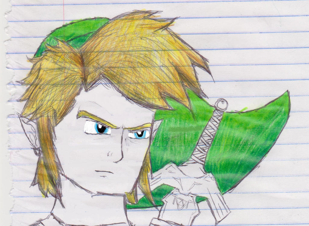 Link Draw Bored By Lordfiredrako On Deviantart