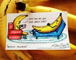 Very Punny, Guys 9: Bananas by OdieFarber