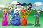Adventure Time Meets Jack Frost 2