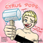 Miley Cyrus : Wrecking Ball Music Video Popsicles