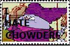 I hate Chowder stamp by seabee10088