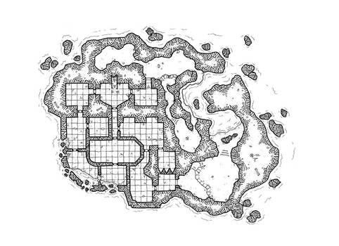 The abbey of Saint Aurelius - February Fan's Map