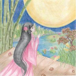 The Tale of Princess Kaguya - Moon by MelodyDalin