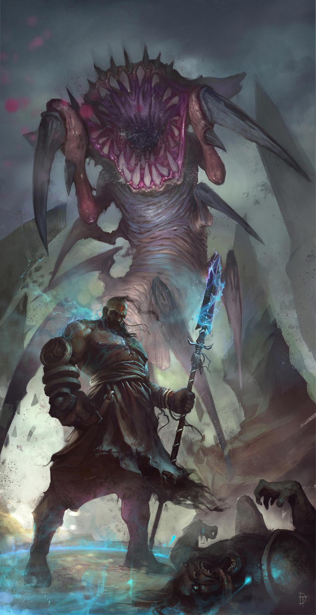 Diablo3 - Reaper of Souls Fan Art by Denstarsk8