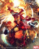Iron Man by Denstarsk8