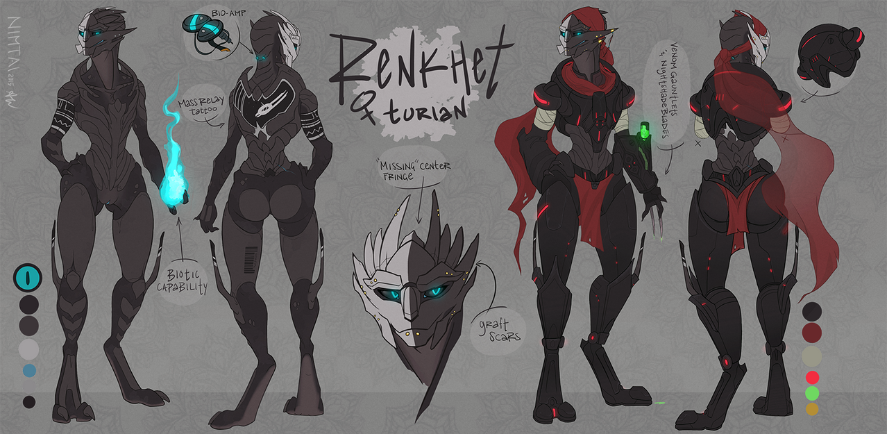 Ren Ref Sheet [Commission] by Nimtai