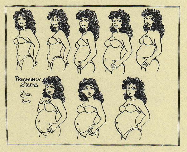 Pregnancy study by Zage56