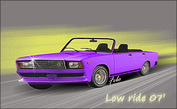 jiguli 07 low rider by febonacci on deviantart