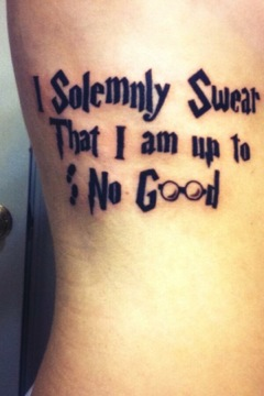 I Solemnly Swear That I Am Up To No Good By Kiss Me You Animal On