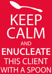 Enucleate bad client