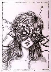 Sleeping Beauty (Inktober 27) by Doringota