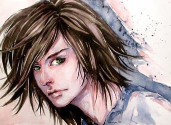 Green eyes by Doringota