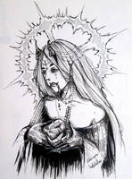 Inktober (Devil15 /31) by Doringota