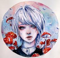 Toadstools by Doringota