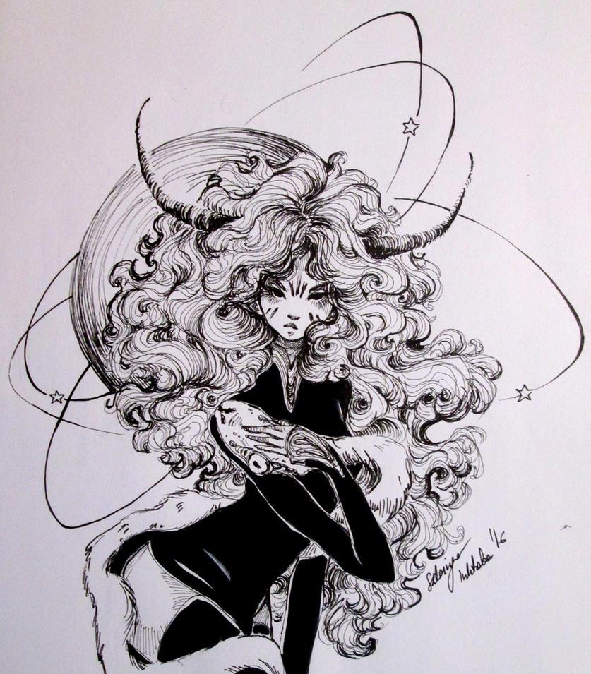 Inktober (Devil 20/31) by Doringota