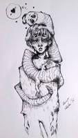 Inktober (Devil 25/31) by Doringota