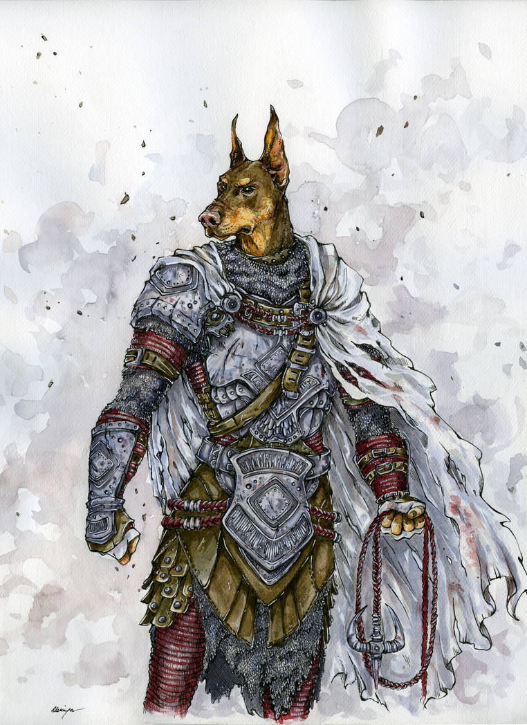 Dog Knight by Doringota