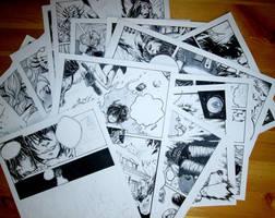Comic book progress by Doringota