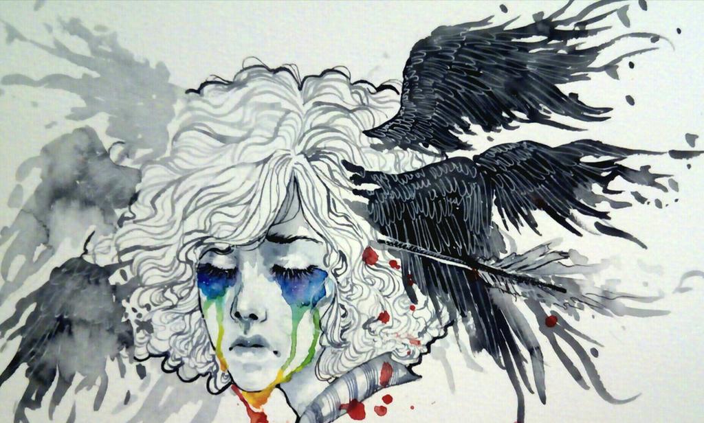 Sketchbook/tears by Doringota