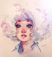 Watercolour sketchbook 06.03.18 by Doringota