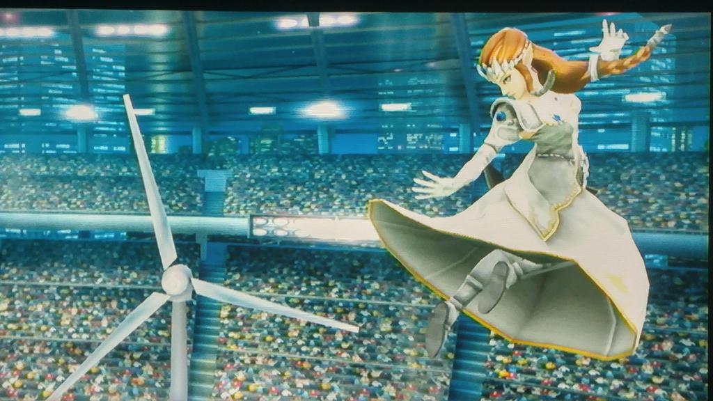 Ssb screenshot: princess Zelda ver 1.1 by zeldacomixmaker