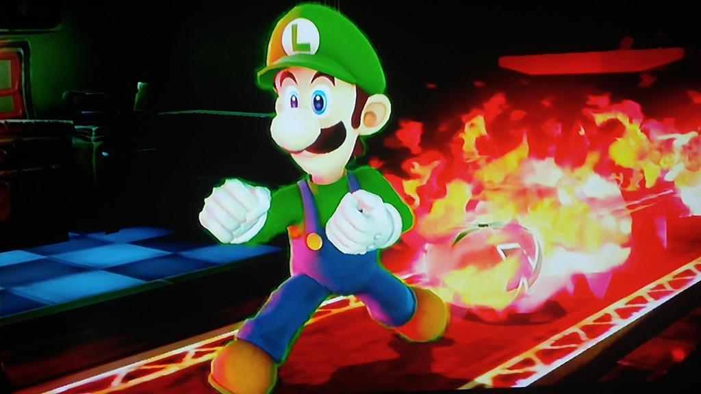 Ssb screenshot: Luigi 2 by zeldacomixmaker
