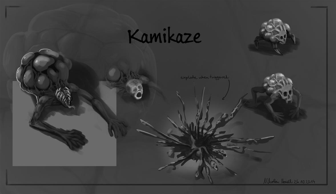 Kamikaze Enemy by 4drenalini