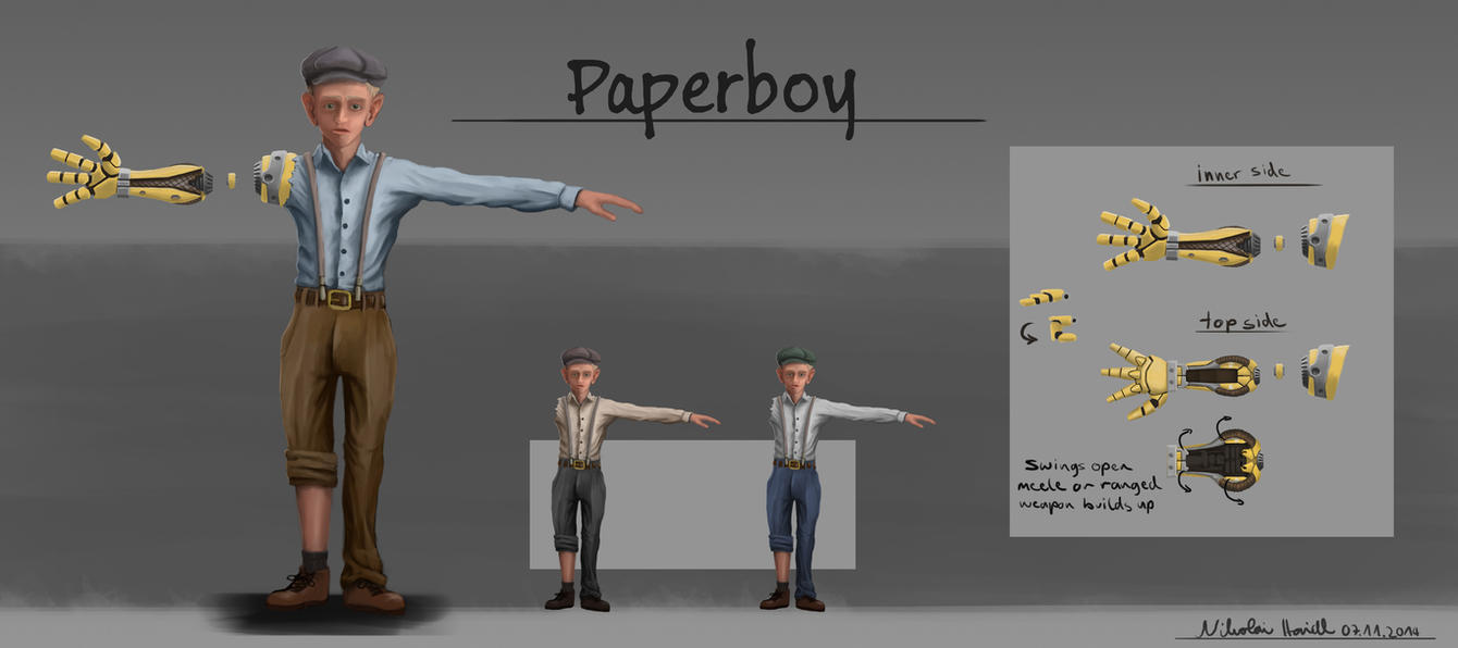 Paperboy by 4drenalini