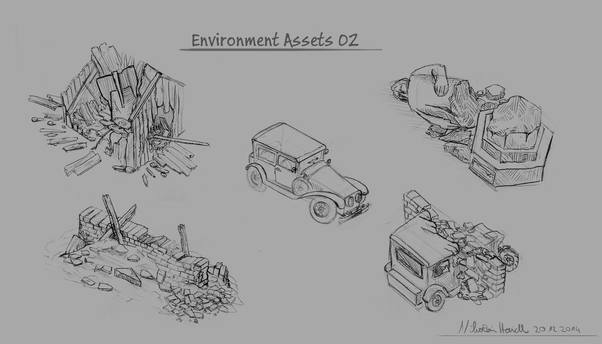 Environment Assets 02 by 4drenalini