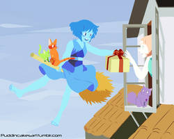Lapis' Delivery Service Day Version by Puddincakes
